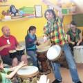 Víkend s bubnováním a hledáním rytmu v nás (a kolem nás)