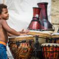 Drum Circle ve Solečenském centru Nupaky