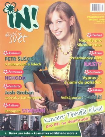 Titulní obálka časopisu IN!